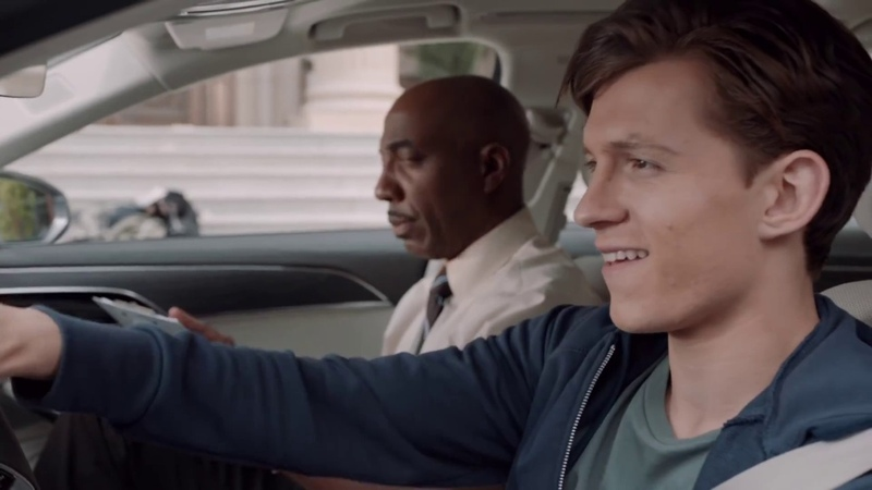Spider-Man Homecoming Drivers Test Audi Commercial - Tom Holland