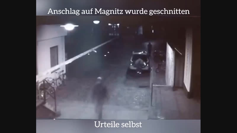 Polizei Magnitz-Video ist eine Lüge