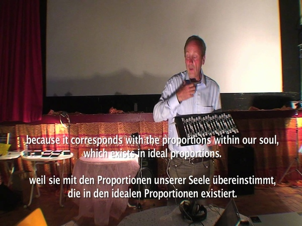 Lecture by Hans-André Stamm on his microtonal music (French with engl./German Subtitles)