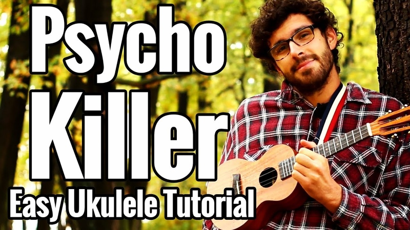 Talking Heads - Psycho Killer - Ukulele Tutorial With Play Along