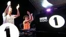 Annie Mac B2B Mark Ronson - Radio 1 in Ibiza 2018 - Café Mambo FLASHING IMAGES