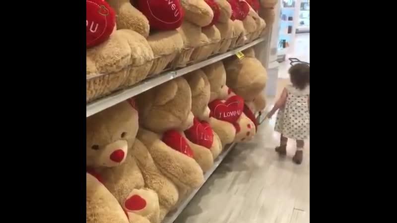 Медведи не оставят равнодушной ни маленькую девочку ни женщину
