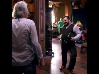 Работа становится игрой, когда у вас есть актеры, такие как Джек Блэк на сетах