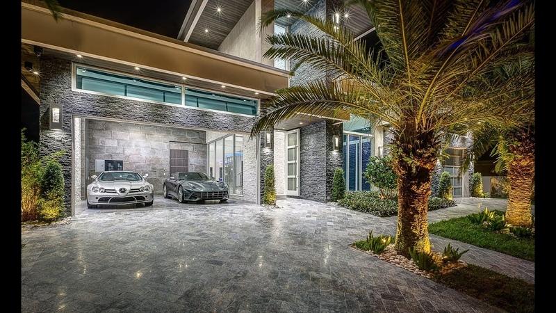 The Best Homes of Fort Lauderdale, FL. Modern House 2506 Barcelona Dr $7,000,000
