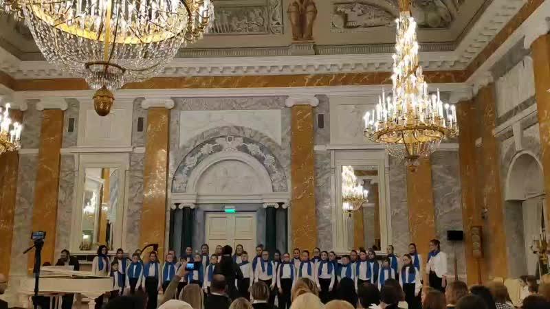 Рождественский концерт в Константиновском дворце