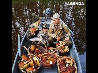 Плющенко и Рудковская сходили за грибами