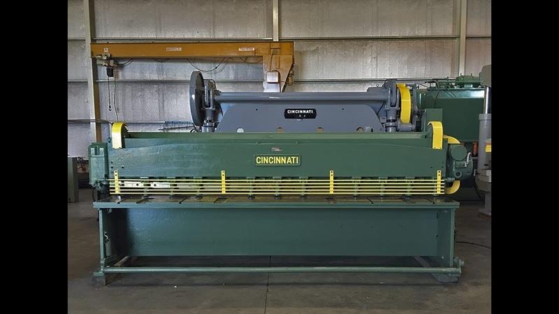A la venta Dobladora Cincinnati Series 1012 | Industrias Frimar | Maquinaria metalmecanica