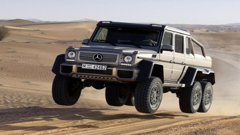 Mercedes-Benz G 63 AMG 6x6 🔥