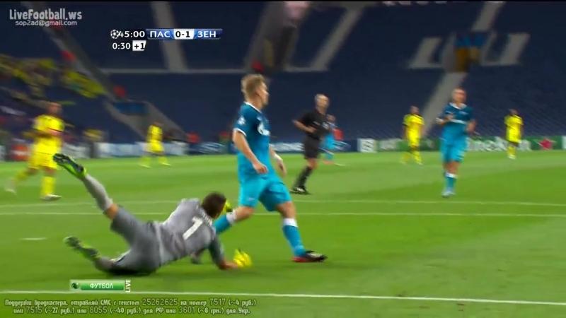 Пасуш де Феррейра 1-4 Зенит / UCL 2013-2014 / FC Paços de Ferreira vs FC Zenit