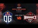 OG vs PG.BarracX - AMD Dota 2 Pro League: Losers' Round 3 w/ GoDz, MLP