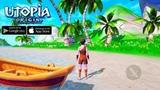 Utopia Origin Gameplay Обзор Первый взгляд Летсплей (Android,APK,iOS) Начало и первые шаги в игре