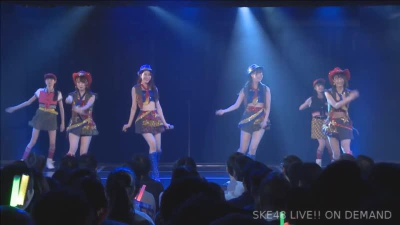 SKE48 Team KII 6th Stage Saishuu Bell ga Naru (День рождения Ошибы Ринки 2018.11.08)