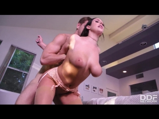 Angela White – Good Morning, Let's Fuck! [DDF Network. HD1080, Big Ass, Big Tits, Brunette, Stocking