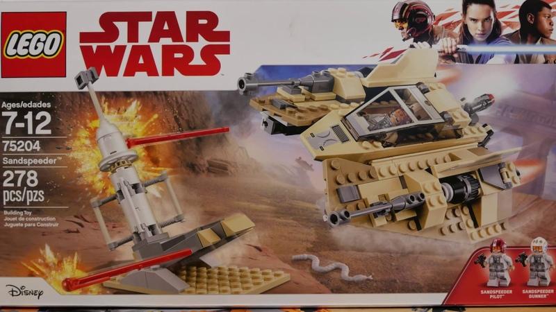 Sandspeeder Star Wars 6 Years Old Boy Building Lego