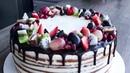 Медовый торт со сметанным кремом простой пошаговый рецепт