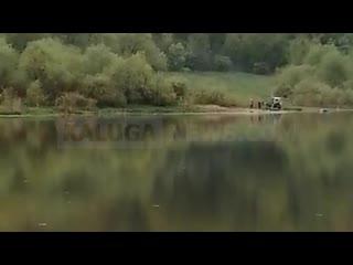 В Оке утопили Ниву