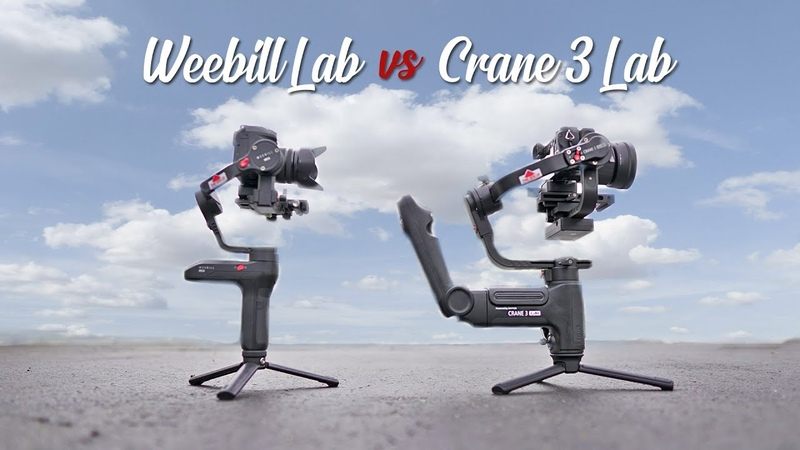Zhiyun Weebill Lab vs Crane 3 Lab Which Gimbal is Better