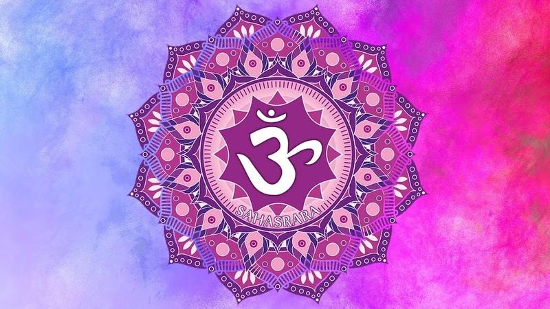 CROWN CHAKRA AWAKENING MEDITATION MUSIC    Activate Kundalini Energy    Open Sahasrara