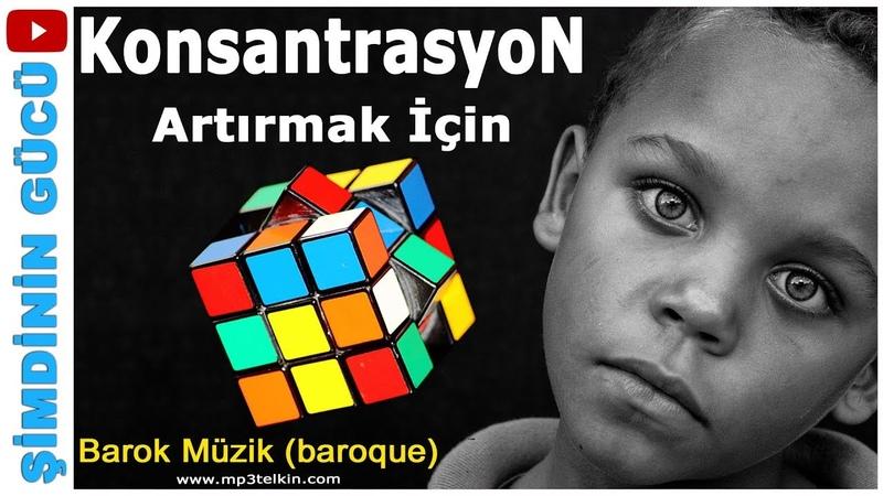 KONSANTRASYON ARTTIRICI En İyi BAROK MÜZİK (Baroque Music)