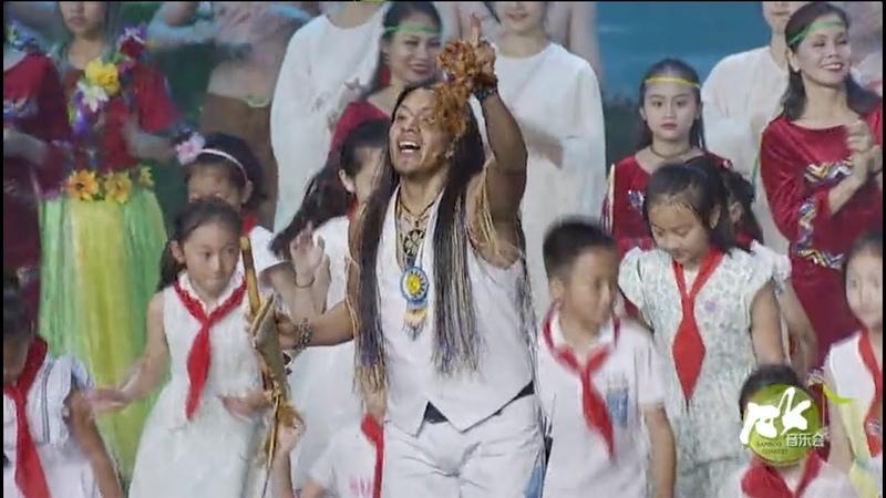 Leo Rojas - El Condor Pasa Live in Meishan China 2018 - Chinese TV Sichuan