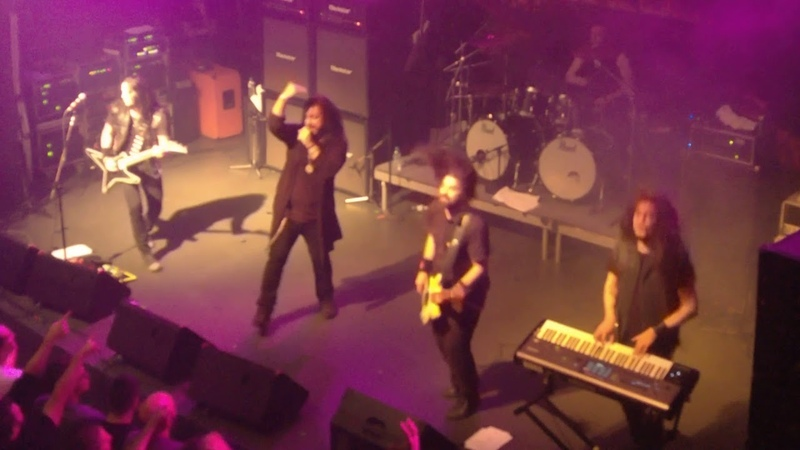 Firewind Live 7of7 Outro Gagarin ATHENS 16 12 17