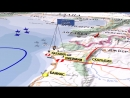 3D визуализация атаки ВВС Израиля и сбития Ил-20 18 сентября
