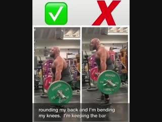 Strength of Body. Как правильно выполнять становую тягу