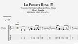 La Pantera Rosa - Henry Mancini Tablatura Guitarra y Bajo...