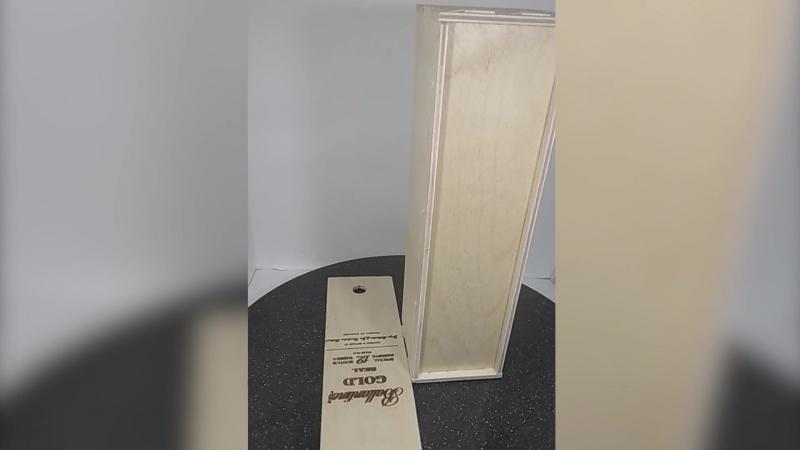 Подарочная коробка для вина c гравировкой
