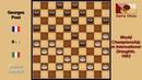 Marino Saletnik (ITA) - Georges Post (FRA). Draughts World Championship. 1952.