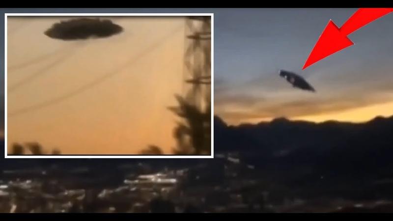 Секретное досье: Очевидцы сделали видеозапись НЛО! Следы инопланетян