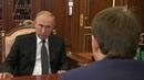 Ситуация вроссийской экономике обсуждалась навстрече Владимира Путина сМаксимом Орешкиным