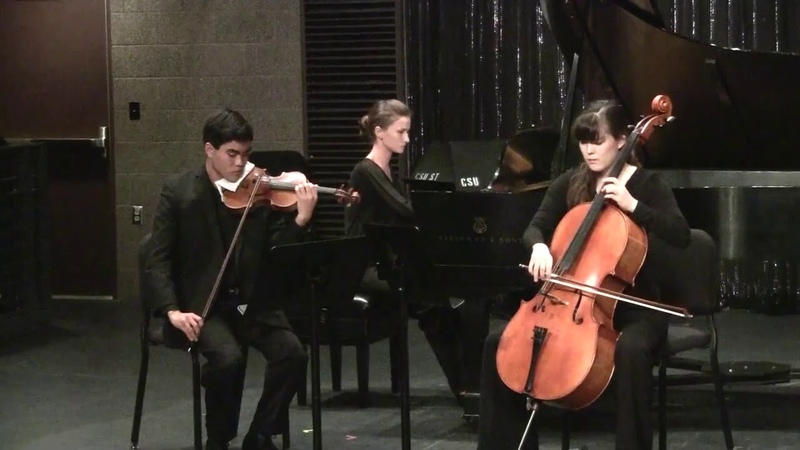 Anton Arensky, Piano Trio No 1 in D minor, Op 32, 3rd and 4th movement