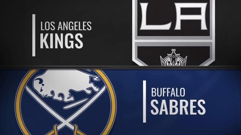 Los Angeles Kings vs Buffalo Sabres | Dec.11, 2018 NHL | Game Highlights | Обзор матча