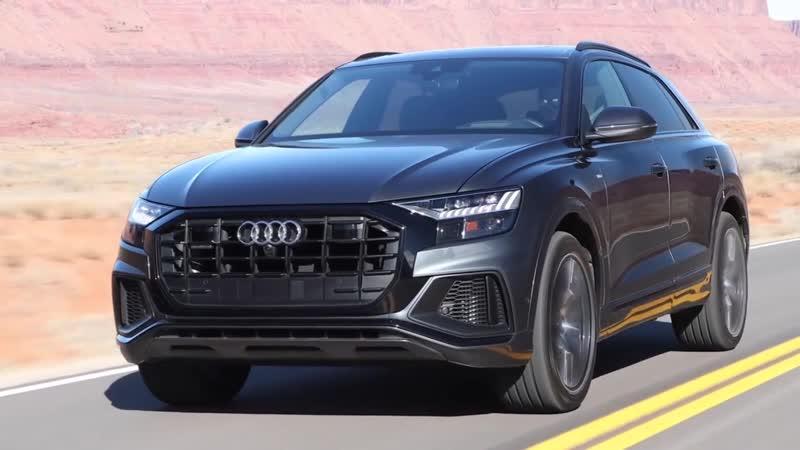 Новый 3,0-литровый внедорожник высшего качества Audi Q8 2019