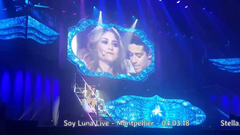 Soy Luna Live -Montpellier -04.03.18 - Luna ❤ Matteo-QUE MAS DA ❤Je serai toujo2