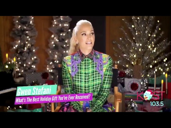 Gwen Stefani Reveals The Best Holiday Gift She's Received