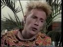 JOHN LYDON  PIL - MTV Australia 1989
