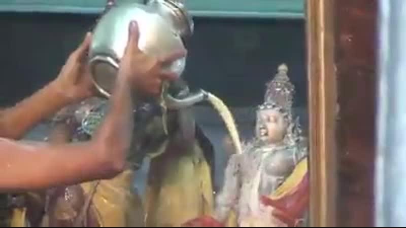 Божественный даршан Абхишекам Шри Рамы самого прекрасного Господа