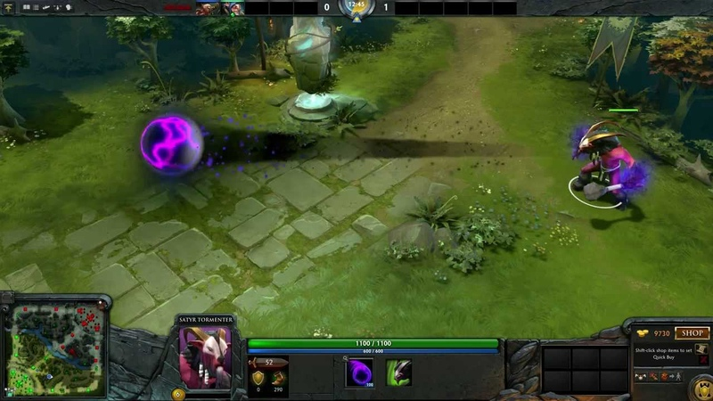 New Satyr Shockwave Particles