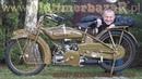 OldtimerbazaR ~ Harley-Davidson Flat Twin 1920 w ruchu - opowiada Piotr Kawałek