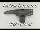 Kizlyar Supreme Sity Hunter Заточка ножа на точилке АСТ 3У
