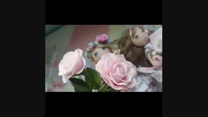 Видео обзор куколок 40 см
