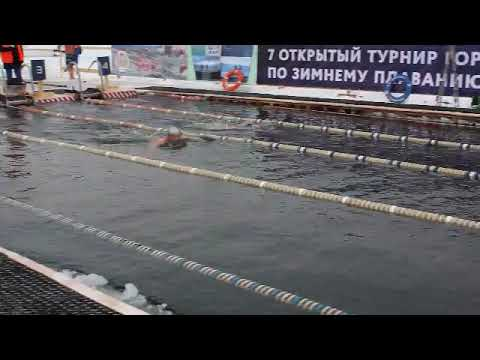 100 м брасс Кристов Вандраш Тюмень 2018 видео Владимира Кузьменко