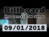 Billboard Top 50 Hot DanceElectronicEDM Songs + Top 10 Albums (September 1, 2018)