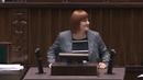 SEJM - 08.11.2018 Dobrowolność szczepień w Polsce, fenomenalne wystąpienie: Justyna Socha