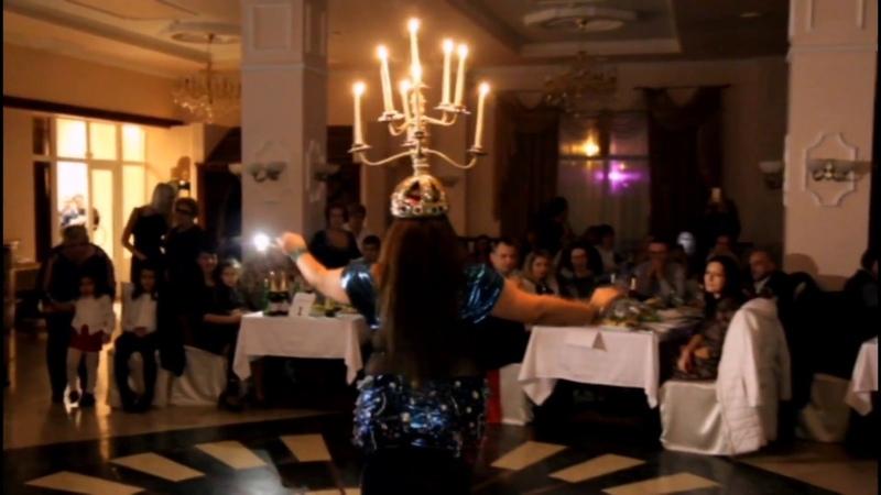 Layla Amar - Fire show Tabla solo by Artem Uzunov