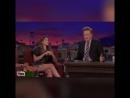 Элизабет Олсен учит телеведущего Конана ОБрайена русским ругательствам.