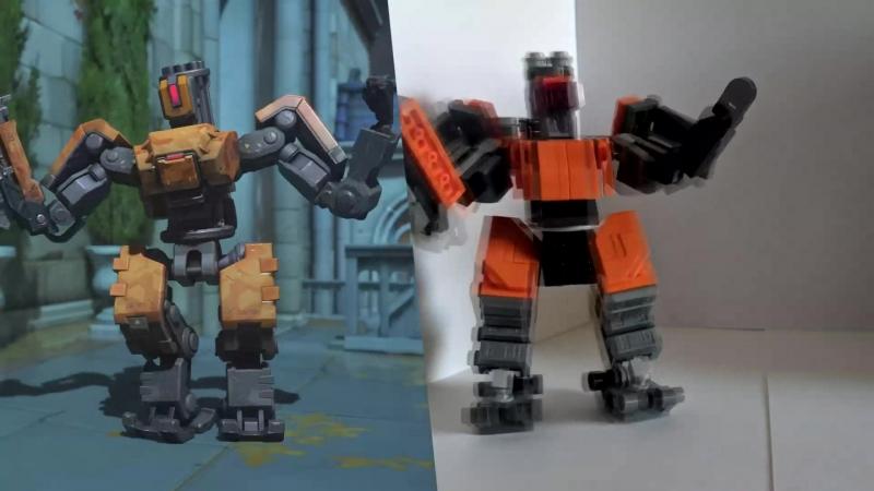 Танец Лего Бастиона без звука
