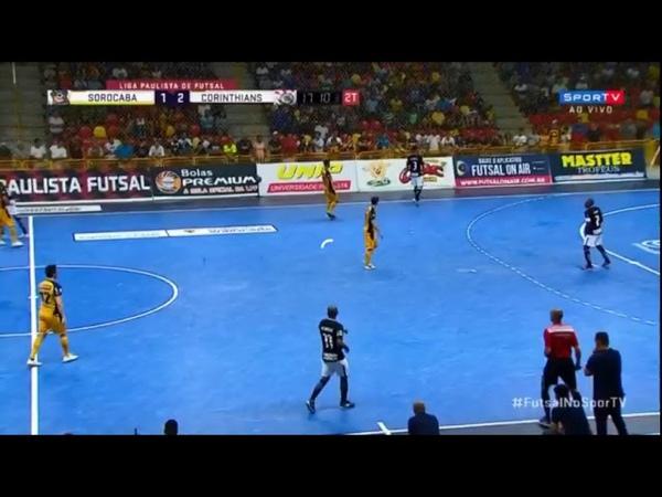 Liga Paulista Final Jogo 1 Segundo Tempo Magnus Futsal x Corinthians AO VIVO